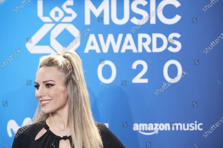 Editorial picture of Los 40 Music Awards photocall, Madrid, Spain - 05 Dec 2020