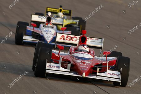 24-25 June, 2011, Newton, Iowa USA Vitor Meira leads Alex Lloyd (c)2011, Dan Streck LAT Photo USA