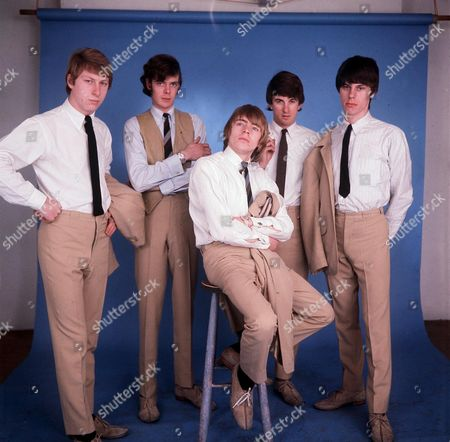 The Yardbirds - Chris Dreja, Paul Samwell-Smith, Keith Relf, Jim McCarty and Jeff Beck