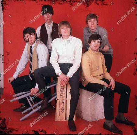 The Yardbirds - Paul Samwell-Smith, Jeff Beck, Keith Relf, Chris Dreja and Jim McCarty