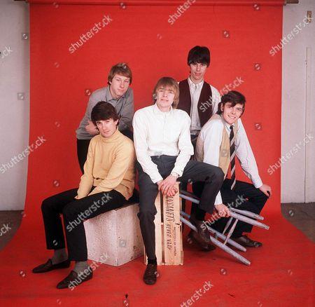 The Yardbirds - Jim McCarty, Chris Dreja, Keith Relf, Jeff Beck and Paul Samwell-Smith