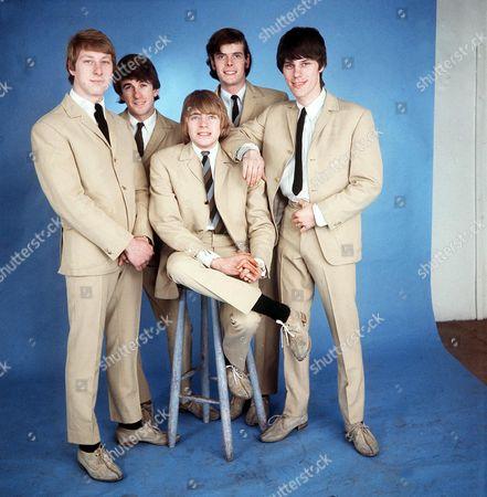 The Yardbirds - Chris Dreja, Jim McCarty, Keith Relf, Paul Samwell-Smith and Jeff Beck