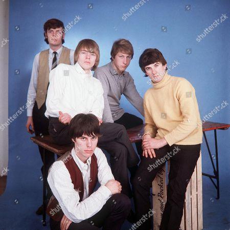 The Yardbirds - Paul Samwell-Smith, Keith Relf, Jeff Beck, Chris Dreja and Jim McCarty