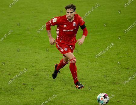 Javier Martinez of FC Bayern Muenchen in action during the Bundesliga match between FC Bayern Muenchen and RB Leipzig at Allianz Arena in Munich, Germany, 05 December 2020.