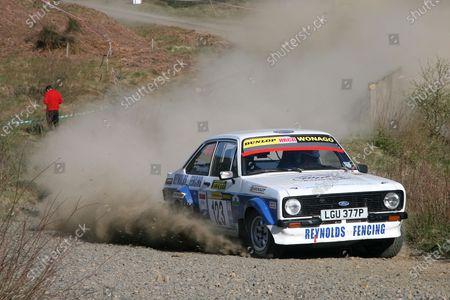 Pirelli International Rally. Carlisle, 30th April 2011. Julian Reynolds/Ian Oakey - Ford Escort. World Copyright: Ebrey/LAT Photographic.