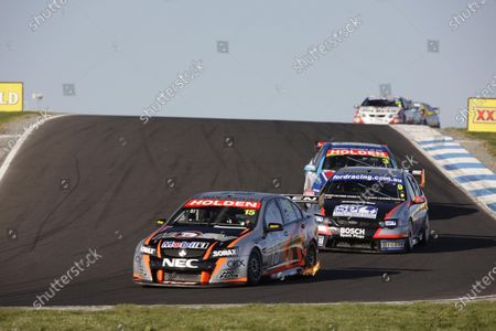 The HSV Dealer Team Holden Commodore of Rick Kelly and Paul Radisich during the L&H 500, Round 09 of the Australian V8 Supercar Championship Series at the Phillip Island Grand Prix Circuit, Phillip Island, Victoria, September 13, 2008. World Copyright: Mark Horsburgh / LAT Photographic
