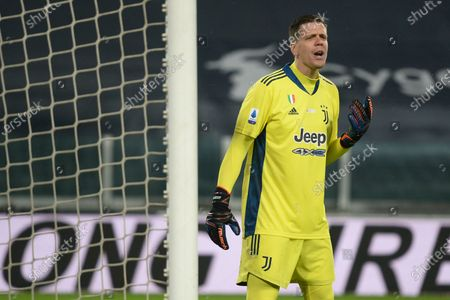 Wojciech Szczesny of Juventus FCduring the Serie A match between Juventus FC and FC Torino at Allianz Stadium on December 5 in Turin, Italy.