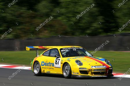 Oulton Park, Cheshire. 4th - 5th June 2011. Alex Martin (GBR) Dextra J D Pierce by Parker Porsche Carrera Cup. World Copyright: Ebrey/LAT Photographic.