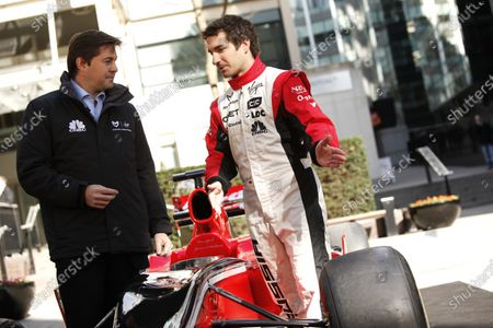 Editorial picture of Russia, Marussia Virgin Racing, CNBC Partnership announcement. - 14 Mar 2011