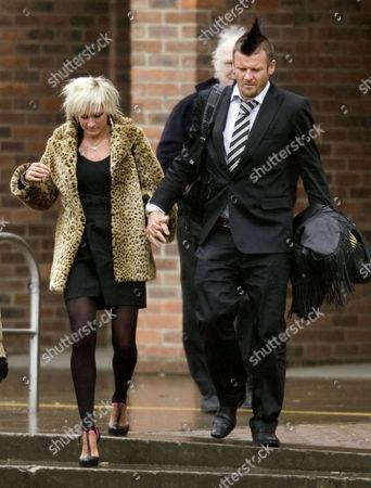 Matthew Pritchard, and girlfriend Vicci Lee