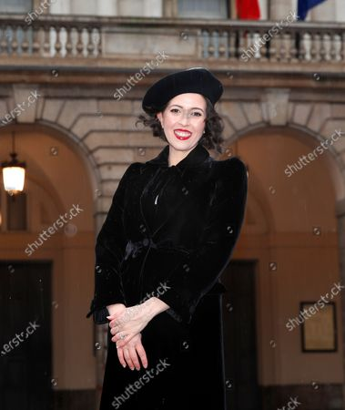 Stock Image of United States' soprano Lisette Oropesa poses in front of La Scala opera theater in Milan, Italy, . Soprano Lisette Oropesa was to be the first American to single a title role in the gala season opener of La Scala since Maria Callas in the 1950s. Then Italy's virus cases surged, with an outbreak in both La Scala's chorus and orchestra, forcing Italy's premier opera house to cancel one of the top events on the European cultural calendar for the first time. Oropesa is one of 24 singers recording for a broadcast event marking the traditional Dec. 7 opening