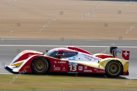 Test Day. Circuit de La Sarthe, Le Mans France.  23rd - 24th April.  Andrea Belicchi / Jean Christophe Boullion, Guy Smith, Rebellion Racing, Lola B10/60 Coupe - Toyota. Action. World Copyright: Alastair Staley/LAT Photographic  Ref: __O9T4390 jpg