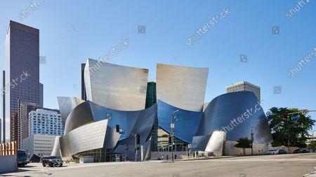 Stock Picture of Walt Disney Concert Hall
