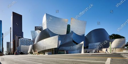 Editorial photo of Architecture of iconic Buildings, Los Angeles, California, USA - 05 Dec 2020