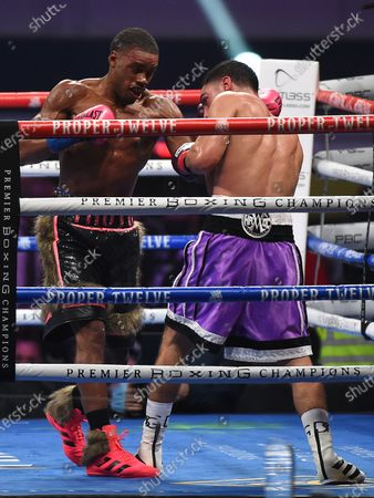 Stock Picture of Errol Spence Jr., Danny Garcia