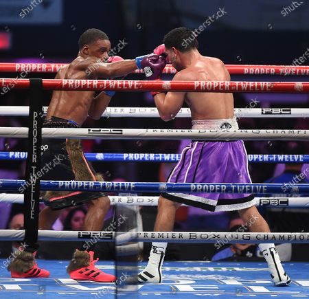 Stock Photo of Errol Spence Jr., Danny Garcia
