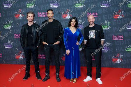 Exclusive - Philippe Lacheau, Tarek Boudali, Vanessa Guide and Julien Arruti