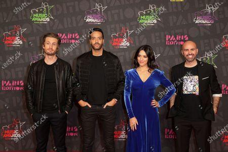 Exclusive - Philippe Lacheau, Tarek Boudali, Vanessa Guide, Julien Arruti