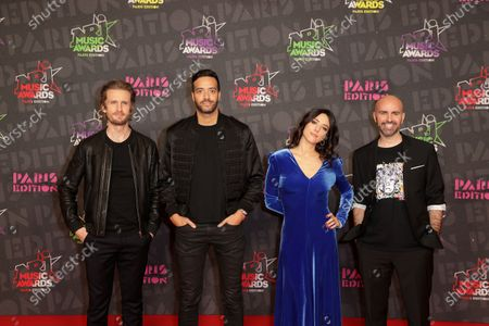 Editorial photo of Exclusive - NRJ Music Awards ceremony, Arrivals, Paris, France - 05 Dec 2020