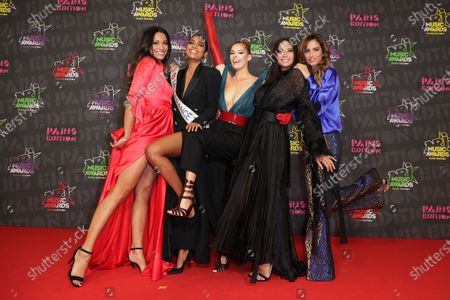 Editorial picture of Exclusive - NRJ Music Awards ceremony, Arrivals, Paris, France - 05 Dec 2020