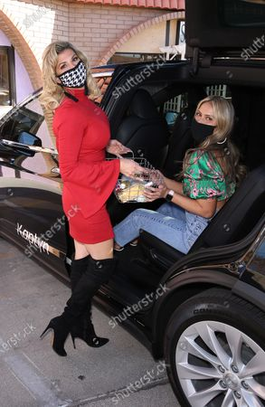 Editorial image of Alexis Bellino hosts 'Sleigh the Holidays' at Beauty Kitchen by Heather Marianna, Boulder City, Nevada, USA - 05 Dec 2020