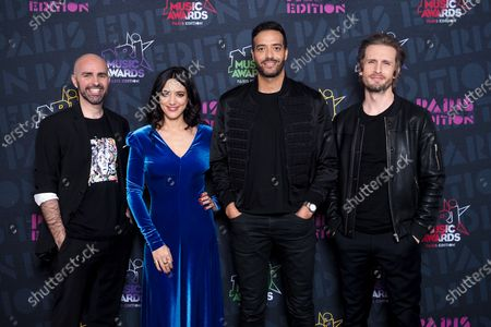 Editorial image of Exclusive - NRJ Music Awards ceremony, Awards Room, Paris, France - 05 Dec 2020