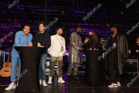 Exclusive - Amir,Vianney, Kendji Girac, Gims, Julien Dore, Dadju