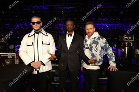 Stock Picture of Exclusive - DJ Snake, Ahmed Sylla, David Guetta