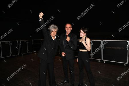 Editorial photo of Exclusive - NRJ Music Awards ceremony, Backstage, Paris, France - 05 Dec 2020