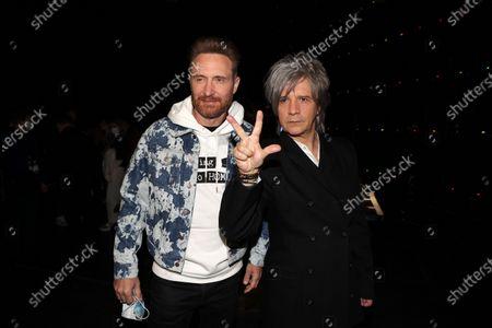 Exclusive - David Guetta, Nicola Sirkis (Indochine)