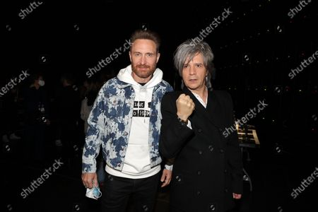 Editorial picture of Exclusive - NRJ Music Awards ceremony, Backstage, Paris, France - 05 Dec 2020