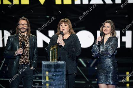 Stock Photo of Exclusive - Bob Sinclar, Michele Bernier and Juste Zoe