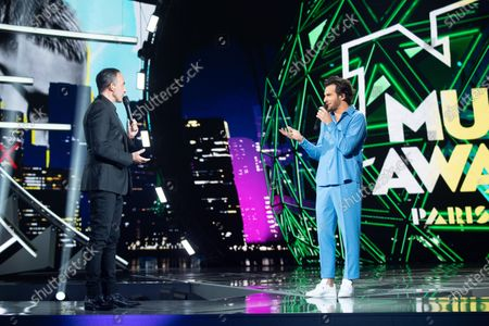 Exclusive - Amir and Nikos Aliagas