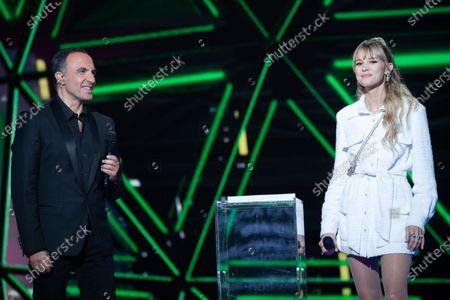 Exclusive - Nikos Aliagas and Angele