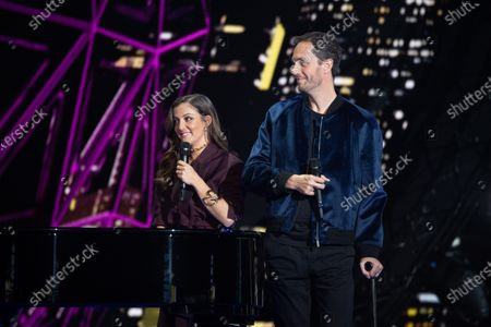 Exclusive - Grand Corps Malade and Camille Lellouche