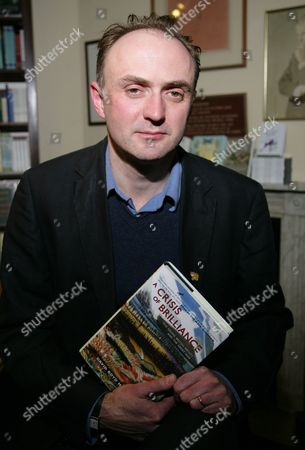 Editorial photo of David Boyd Haycock 'A Crisis of Brilliance' book signing at Blackwells Oxford, Britain - 18 Feb 2010