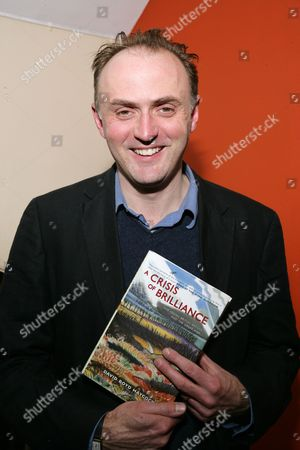 Editorial picture of David Boyd Haycock 'A Crisis of Brilliance' book signing at Blackwells Oxford, Britain - 18 Feb 2010