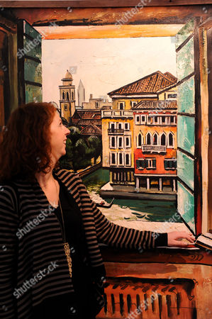 Tair Salakhov: Venice. View from the balcony, Hotel Terminus 1999.