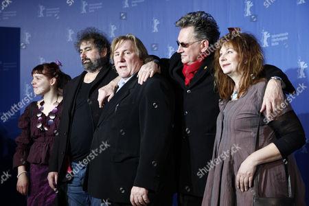 Miss Ming, Gustave de Kervern, Gerard Depardieu, Benoit Delepine and Yolande Moreau