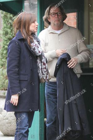Eric Clapton and wife Melia McEnery