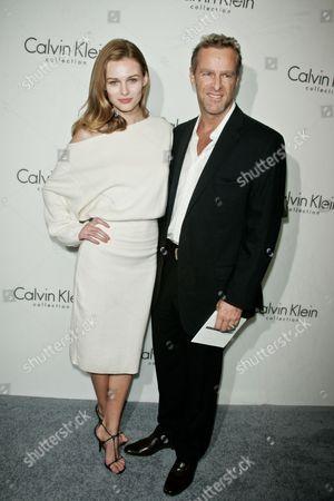 Edita Vilkeviciute and Steve Lyon