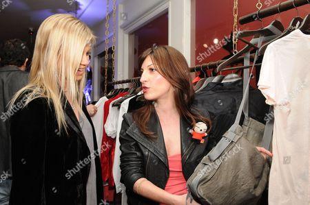 Amy Smart and Nevena Borissova