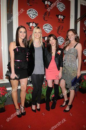 Jessica Lowndes, Amy Smart,Nevena Borissova and Bijou Phillips