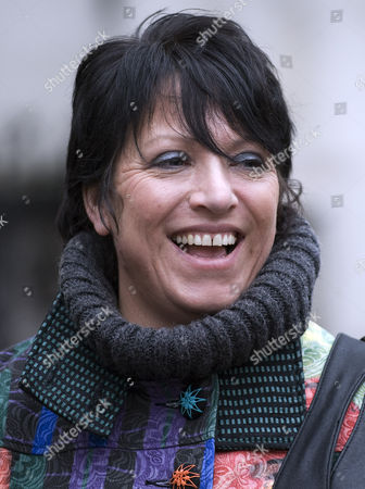 Editorial image of Former TA Soldier Donna Rayment at the High Court Where She Won a Sexual Harrassment Claim Against the MOD, London, Britain - 18 Feb 2010