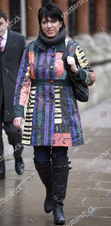 Editorial photo of Former TA Soldier Donna Rayment at the High Court Where She Won a Sexual Harrassment Claim Against the MOD, London, Britain - 18 Feb 2010