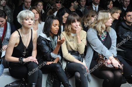 Pixie Geldof, Remi Nicole, Alexa Chung