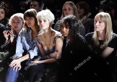 Alexa Chung, Pixie Geldof and Remi Nicole