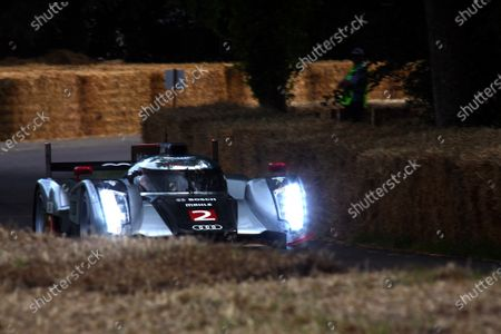 Goodwood Estate, West Sussex. 30th June - 3rd July 2011 The 2011 Le Mans winning Audi Sport Team Joest Audi R18 TDi on the hillclimb. Action. World Copyright: Lord Hutton/LAT Photographic