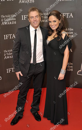 Donal MacIntyre and wife Ameera De La Rosa
