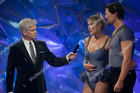 Presenters; Phillip Schofield with Sharron Davies and Pavel Aubrecht